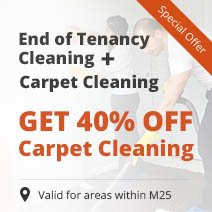 End of Tenancy Cleaning + 40% OFF Carpet / Upholstery Cleaning