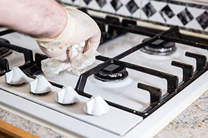 Free oven cleaning as part of our end of tenancy cleaning service