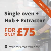 Single oven + Hob + Extractor = only £75