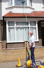 window cleaning by Star Domestic Cleaners Ltd.